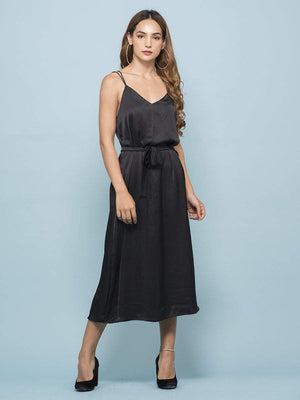 Get Jade Black Dress with RS. 1050.00
