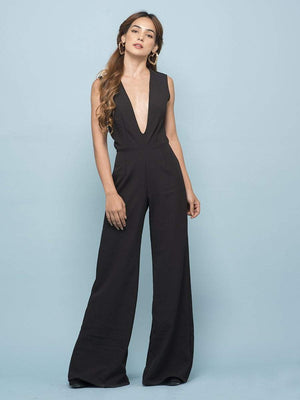 Ebony Black Jumpsuit