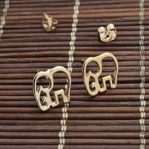 Get Rose gold color cute Elephant giraffe with RS. 250.00