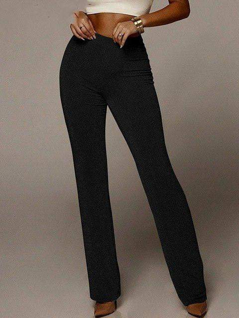 Bodycon Casual High Waist Bottoms - Pants - Zooomberg - Zoomberg