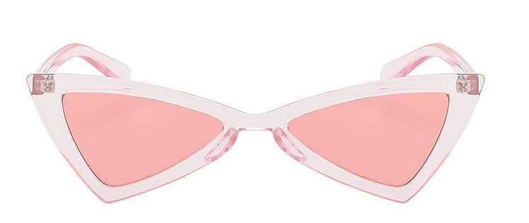 Pink  Butterfly Retro Vintage Sunglasses - zooomberg