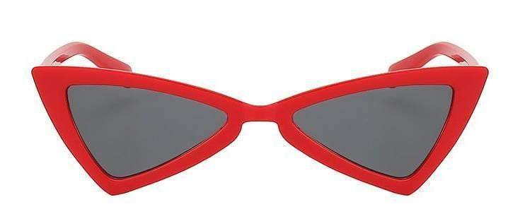 Red Butterfly Retro Vintage Sunglasses - zooomberg