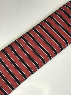 Imported Stripe Printed Fabric (Width - 58 inches)