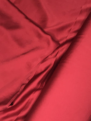 Imported Modal Satin Viscose Plain Dyed Fabric (Width - 58 inches)