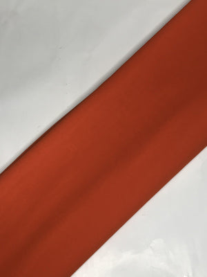 Orange Georgette Plain Dyed Fabric (Width - 58 inches)