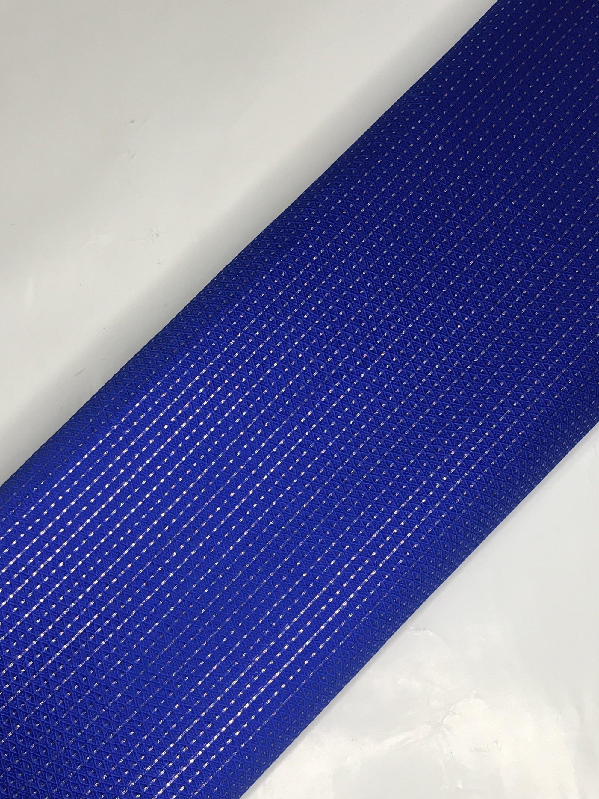 Royal Blue Brocade Fabric (Width - 44 inches)