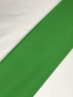 Parrot Green Georgette Plain Dyed Fabric (Width - 44 inches)