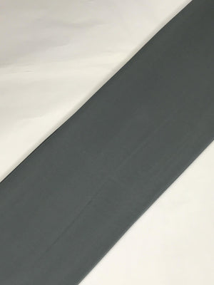 Grey Georgette Plain Dyed Fabric (Width - 44 inches)