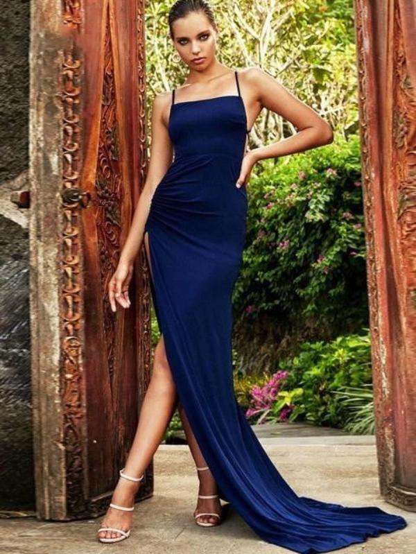 Elegant Backless Long Maxi Party Dress - Dresses - Zooomberg - Zoomberg