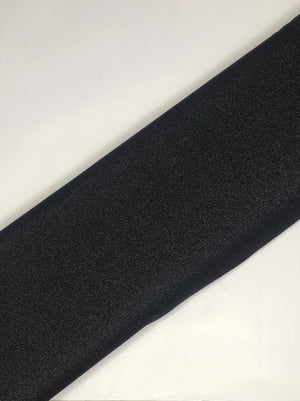 Imported Knitted Stretchable Black Moss Sparkle Fabric (Width - 58 Inches)