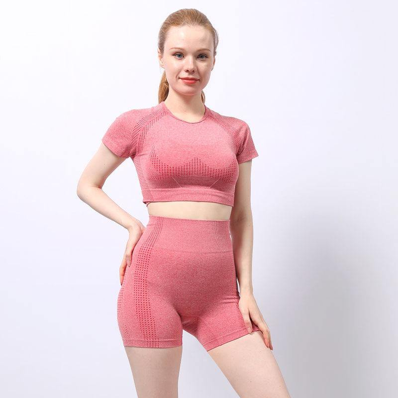 Quick-Drying Two-Piece Active Wear Set