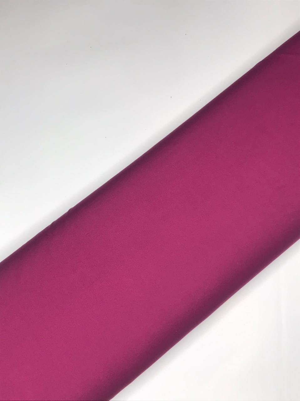 Knitted Stretchable Magenta ITY Fabric (Width - 58 Inches)