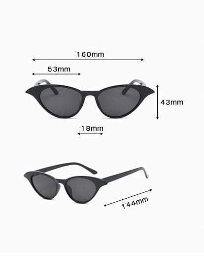 Black Wing It Sunglasses - zooomberg