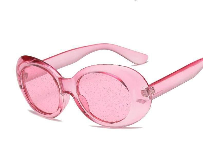 Pink Tweety Glitter Clear Sunglasses - zooomberg