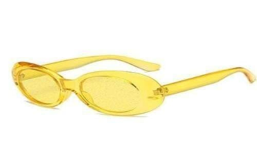Yellow Tweety Glitter Clear Sunglasses - Sunglasses - Zooomberg - Zoomberg