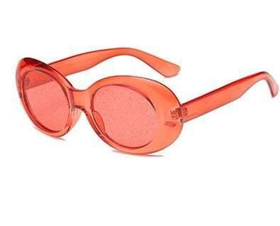 Red Tweety Glitter Clear Sunglasses - zooomberg
