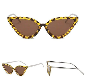 Leopard Witchy Cat Eye Sunglasses - Sunglasses - Zooomberg - Zoomberg