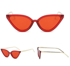 Get Red Witchy Cat Eye Sunglasses with RS. 894.00