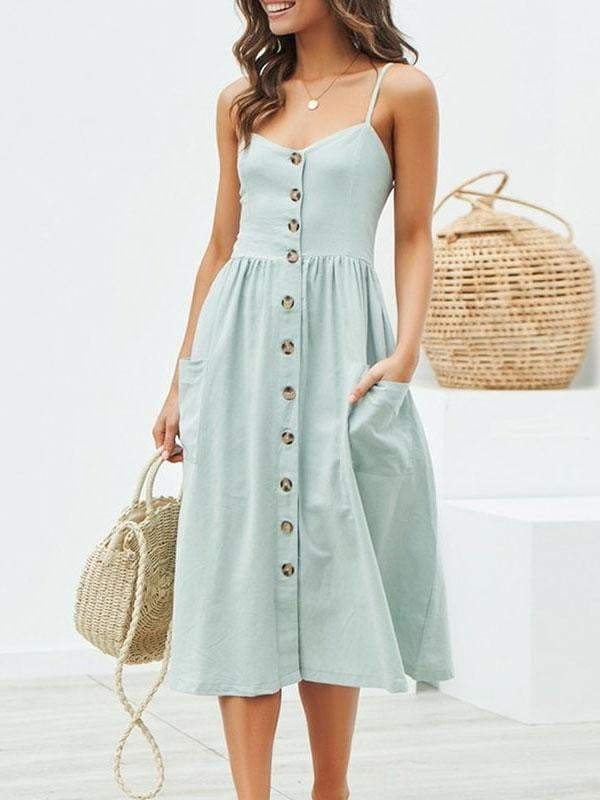 Polka Dot Elegant Midi Dress