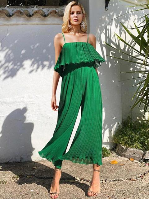 Sexy Spaghetti Strap Women Jumpsuit - Jumpsuits - Zooomberg - Zoomberg