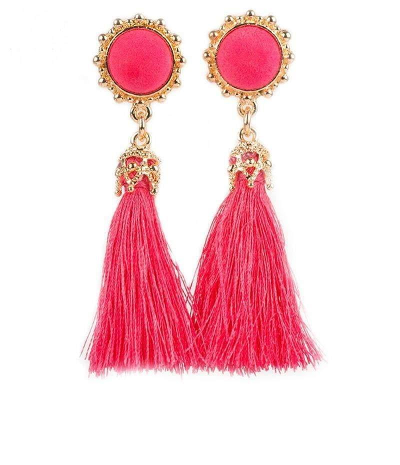 Vintage Earrings Drop Long Tassel Earring - Earrings - Zooomberg - Zoomberg