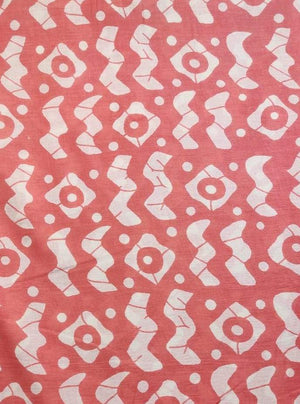 Cotton Mulmul Pastel Tribal Printed Fabric