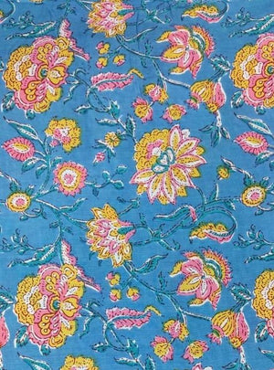 Cotton Cambric Floral Print - Zooomberg
