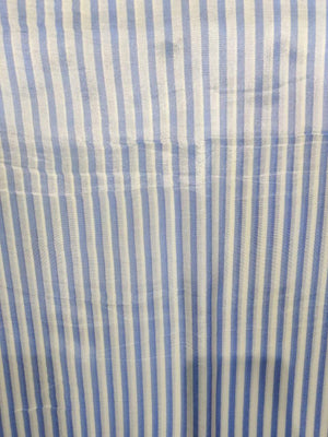 Digital Striped Printed Viscose Muslin Fabric