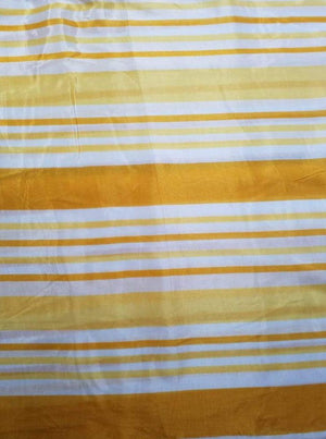 Pure Viscose Mulmul Digital Stripe Printed Fabric