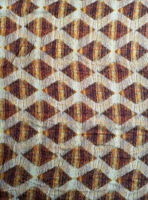 Geometric Digital Printed Viscose Muslin Fabric - Zooomberg