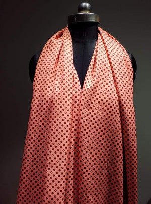 Pashmina Polka Dots Digital Printed Fabric