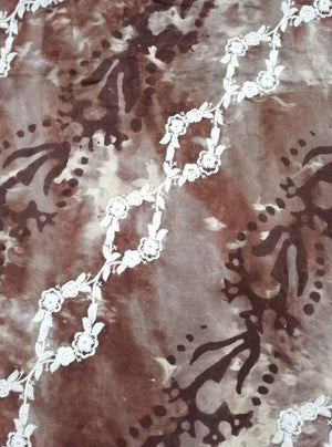 Upada Embroidery Fabric with Translucent Sequins - Zooomberg