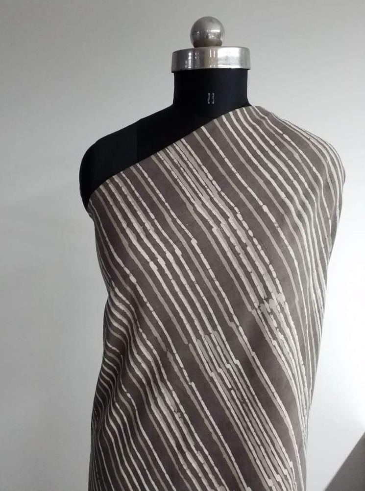(Pre-Cut)Cotton Daboo Stripe Print - Zooomberg