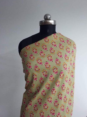 Cotton Cambric Floral Print