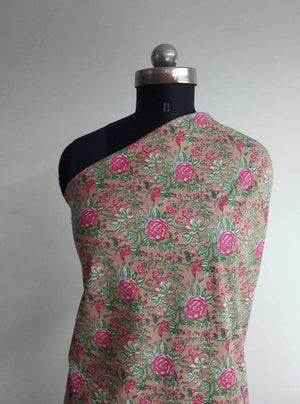 Future Cotton Cambric Floral Rose Print