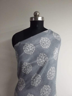 Chandelier Printed Viscose Muslin Fabric