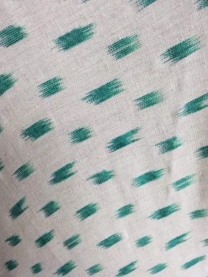 Ikat Pattern Cotton Flex Screen Printed Fabric - Zooomberg