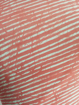 Stripe Printed Georgette Fabric