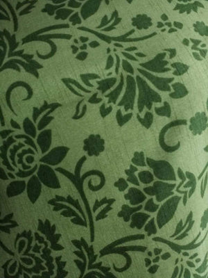 Floral Printed Art Silk Fabric - Zooomberg