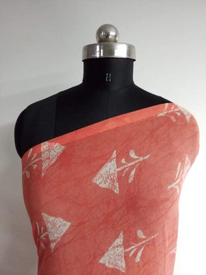 Geometric Printed Georgette Fabric - Zooomberg
