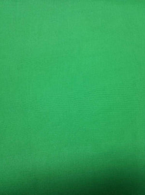 Green Plain Dyed Organza Fabric