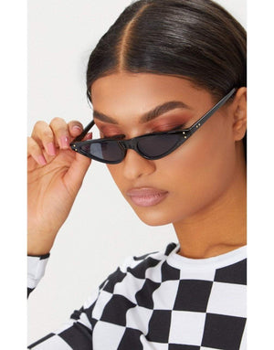 Black Feminine Cat-Eye sunglasses - Sunglasses - Zooomberg - Zoomberg
