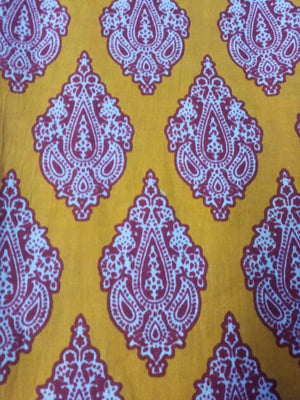 Chandelier Printed Cotton Cambric Fabric