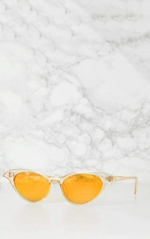 Yellow Wing It Sunglasses - Sunglasses - Zooomberg - Zoomberg