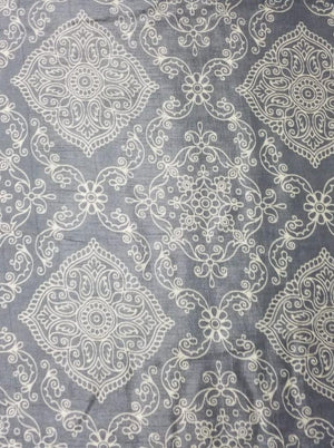 Viscose Mustang Discharge Print Fabric