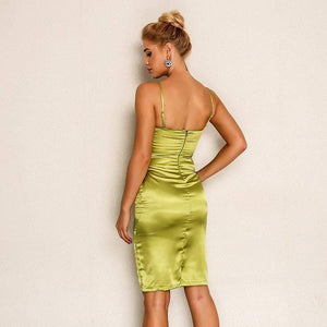 Sleeveless V-Neck Party Dresses - Dresses - Zooomberg - Zoomberg