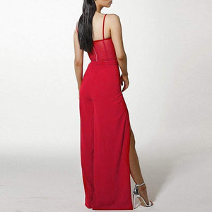 Get Boho Elegant Red Strap Sexy Co-Ord with RS. 2208.00