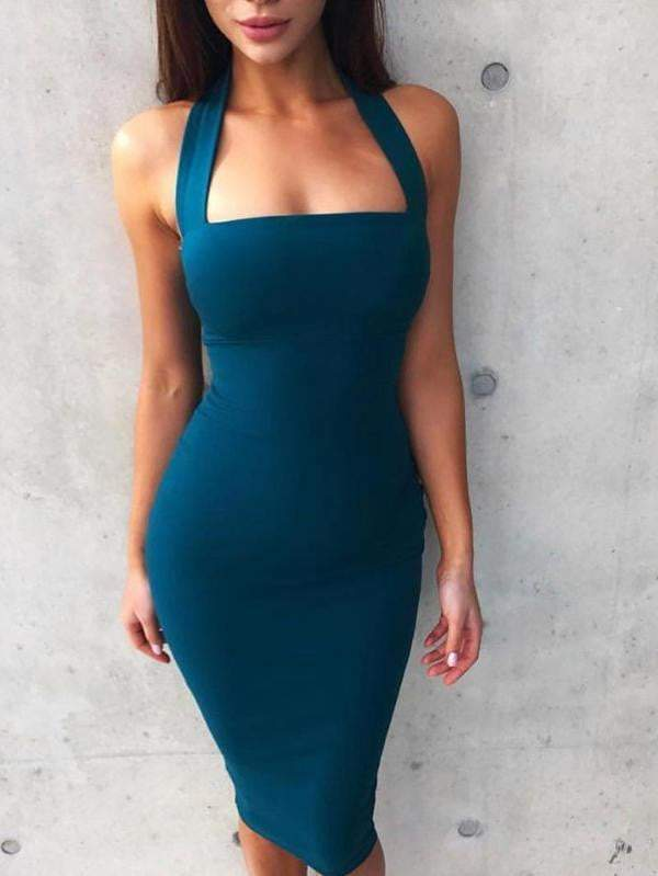 Sexy Bodycon Celebrity Party Dress - Dresses - Zooomberg - Zoomberg