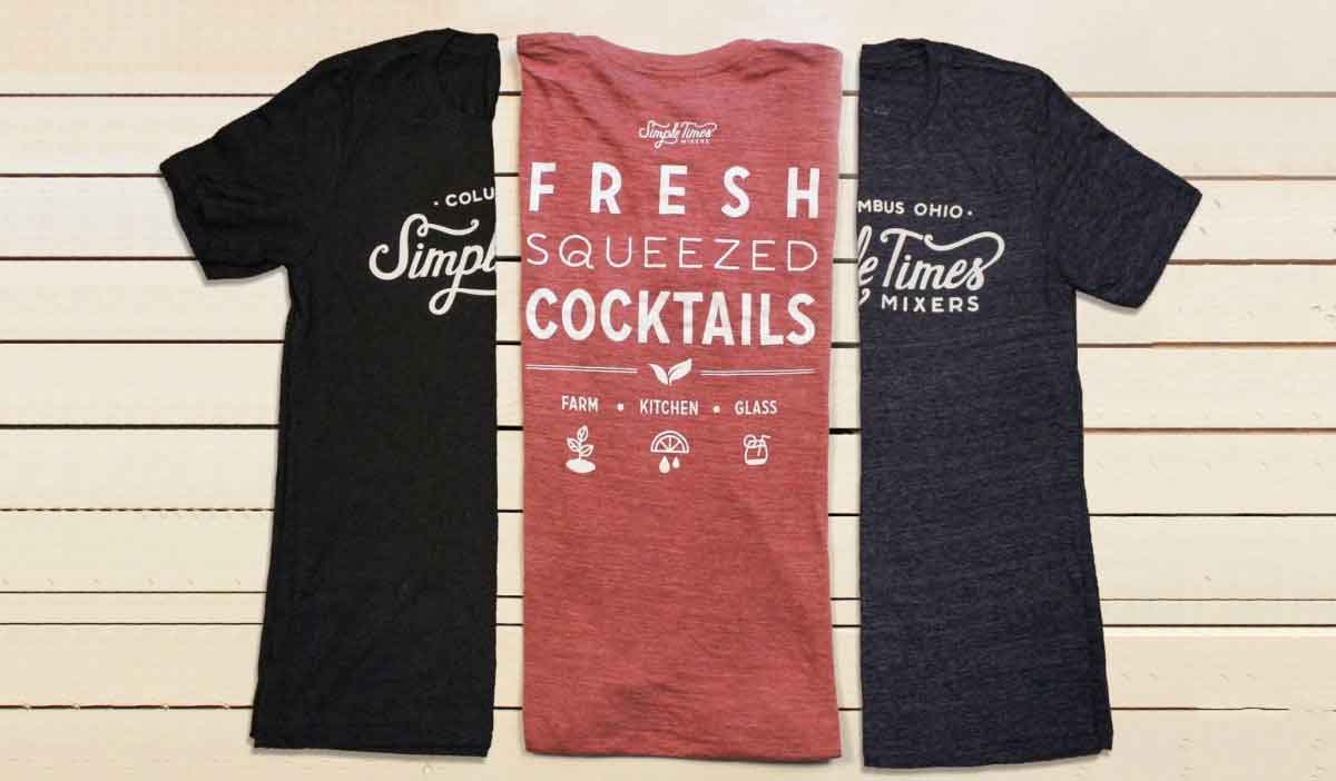 Cocktail Mixers - Alcohol Mixers - Simple Times Mixers - Simple Times T-Shirts