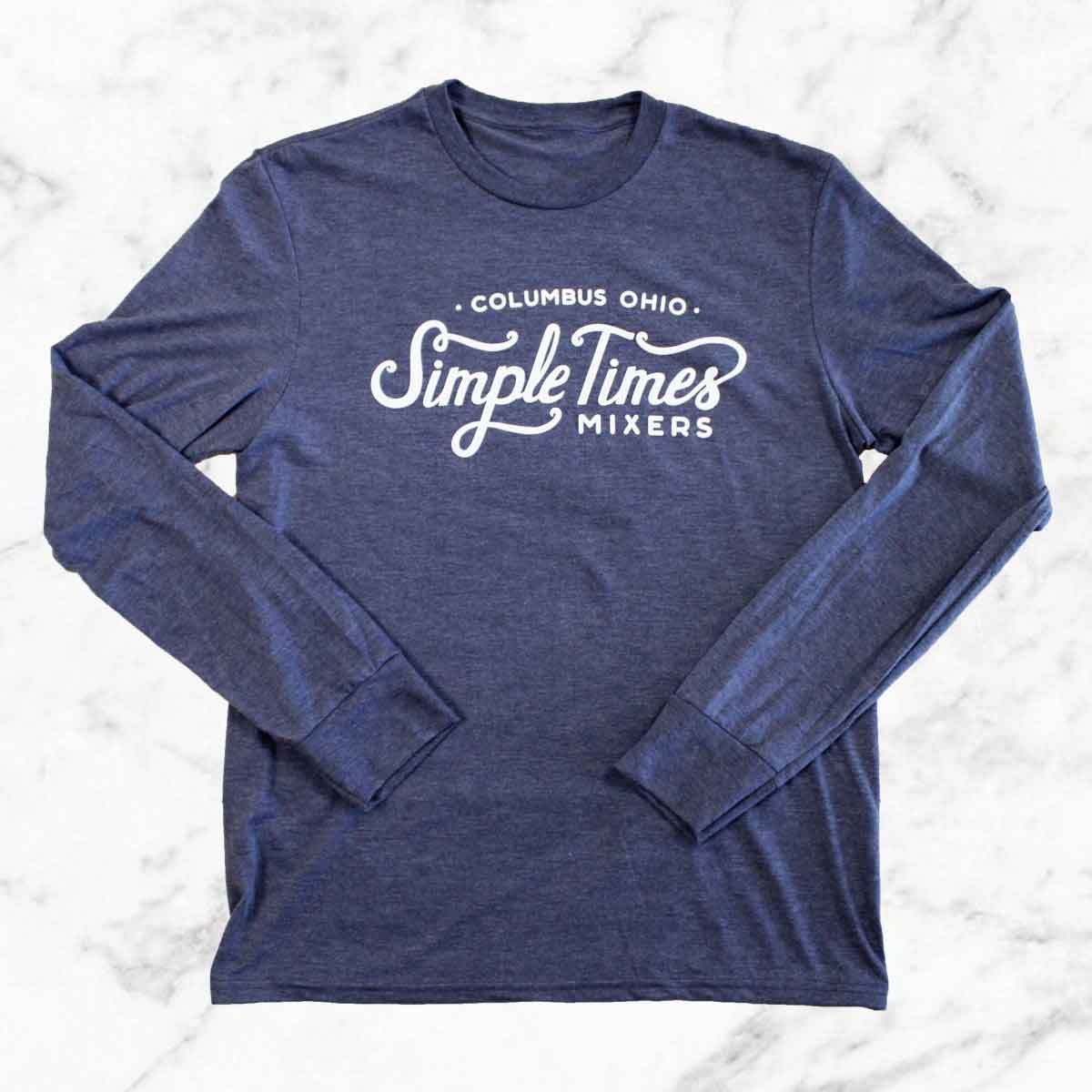 Cocktail Mixers - Alcohol Mixers - Simple Times Mixers - STM Long Sleeve T-Shirt